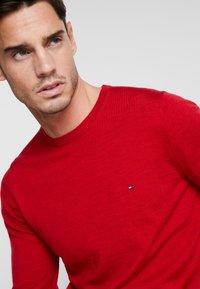 Tommy Hilfiger Tailored - FINE GAUGE LUXURY  - Jumper - red - 4