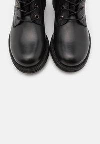 Felmini - COOPER - Lace-up boots - black - 3