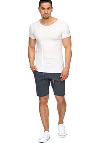 INDICODE JEANS - CARVER - Denim shorts - anthrazit - 0