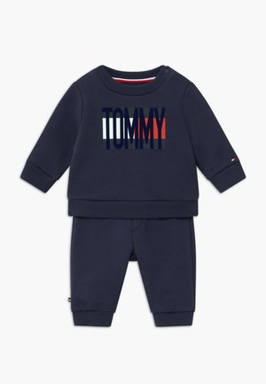 BABY FLAG TRACKSUIT SET - Trainingsanzug - blue