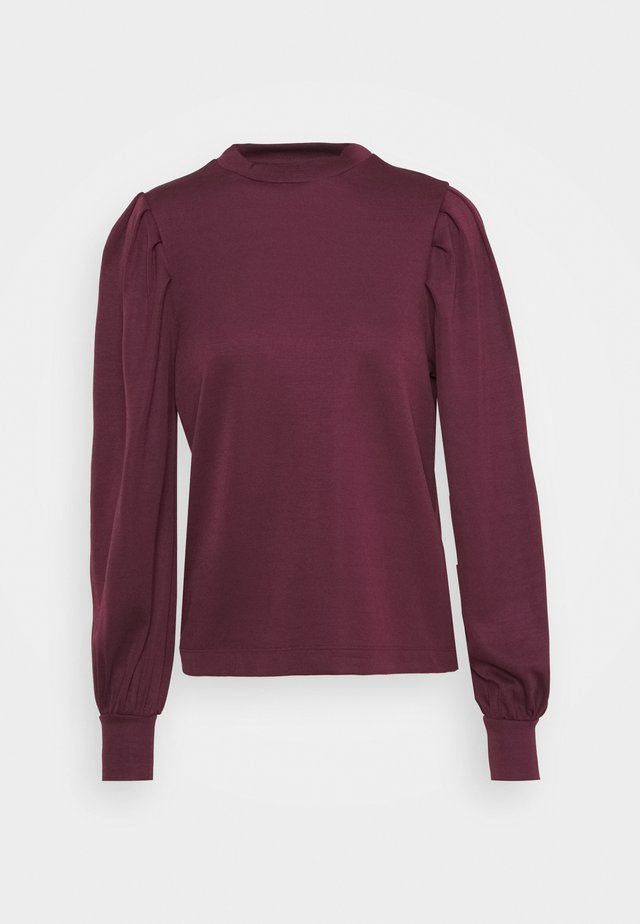 VMTHEODORA PLEAT  - Sweatshirt - fig