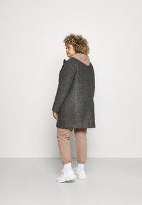 Zizzi - CAAMES COAT - Classic coat - dark grey melange - 2