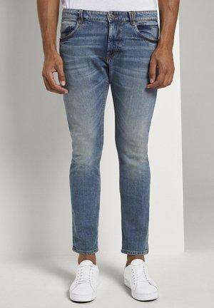 Slim fit jeans - mid stone bright blue denim