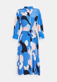 Nümph - NUCORA DRESS - Skjortekjole - ultramarine - 7