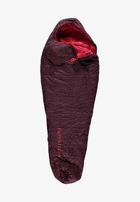Kaikkialla - LENTUA - Sleeping bag - wine - 0