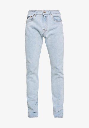 BIG PRINT BACK - Jeans baggy - indigo