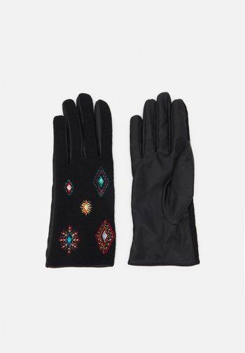 GLOVES JULIY TRIBU - Handschoenen - black