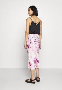 Bardot - KENDAL BIAS SKIRT - A-line skirt - purple - 2