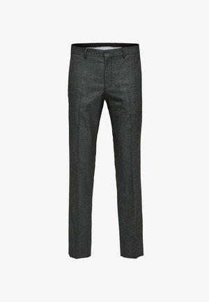 ELEGANTE - Kostymbyxor - grey