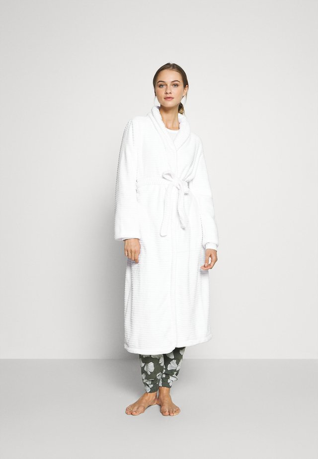 ROBE LONG - Badekåpe - off white
