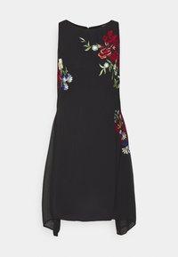 Desigual - VEST ROMA - Cocktail dress / Party dress - black - 3