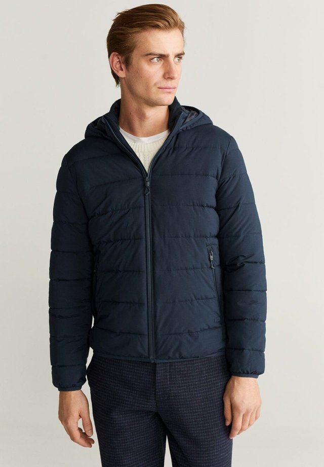 GORRY - Winter jacket - dunkles marineblau