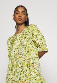 Monki - MILLIE DRESS - Day dress - grassy - 4