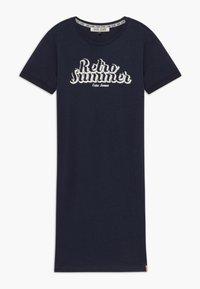 Cars Jeans - KIDS DENIA DRESS - Žerzejové šaty - navy - 0