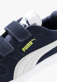 Puma - ICRA TRAINER - Trainers - peacoat/gray violet/nrgy yellow/white - 2