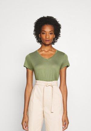 ANNA  - T-shirts basic - olivine
