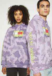 Tommy Jeans - ABO TJU X SPONGEBOB HOODIE UNISEX - Sweatshirt - purple quartz - 4