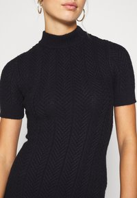 Fashion Union - ETHAL - Strikket kjole - navy - 5