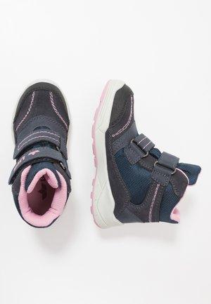 LEVANO - Zimní obuv - marine/rosa