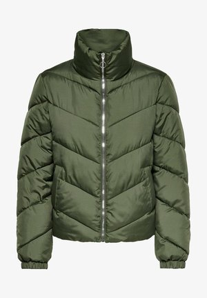 Winter jacket - forest night