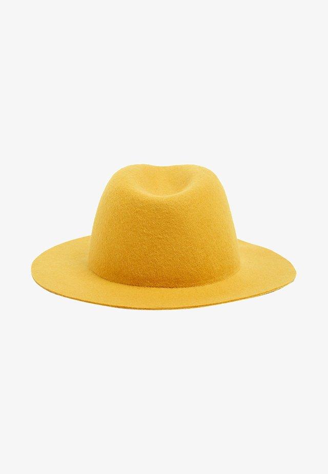 FEDORA - Hoed - honey yellow