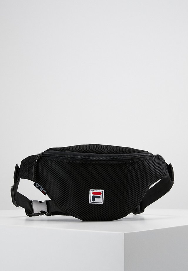 WAIST BAG SLIM - Rumpetaske - black