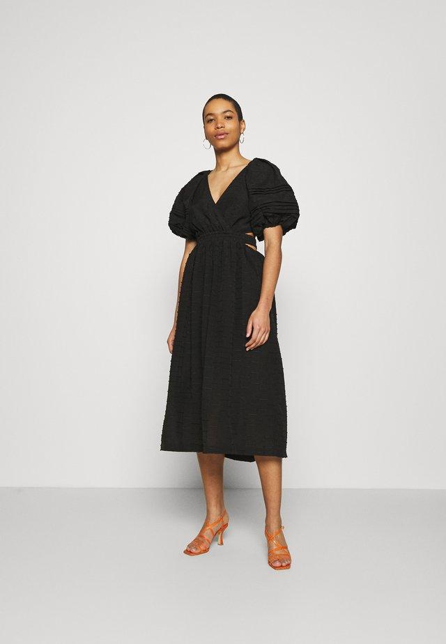 DISPERSE DRESS - Korte jurk - black