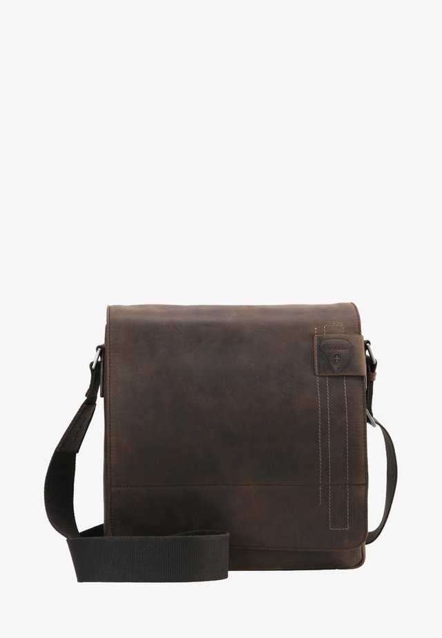 RICHMOND - Borsa a tracolla - dark brown