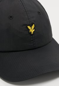 Lyle & Scott - RIPSTOP CAP - Kšiltovka - true black - 6
