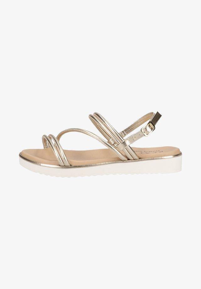 Sandales - platinum