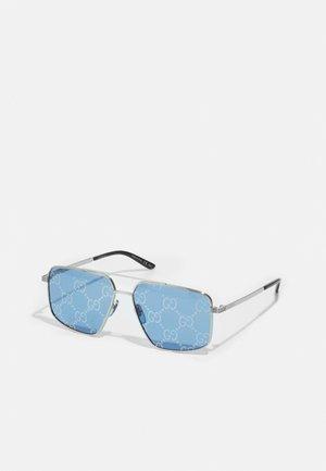 UNISEX - Lunettes de soleil - silver-coloured/blue