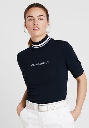 SELMA - Print T-shirt - navy