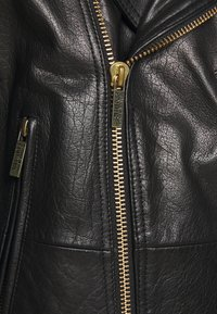Versace Jeans Couture - Veste en cuir - nero - 9