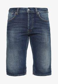SCOTT - Jeans Shorts - blue denim