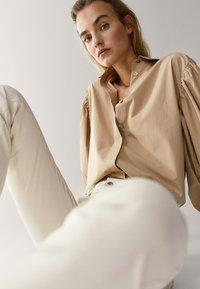 Massimo Dutti - Jeans Skinny Fit - white - 5