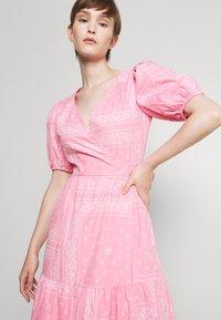 Never Fully Dressed - BANDANA DRESS - Maxi dress - pink - 3