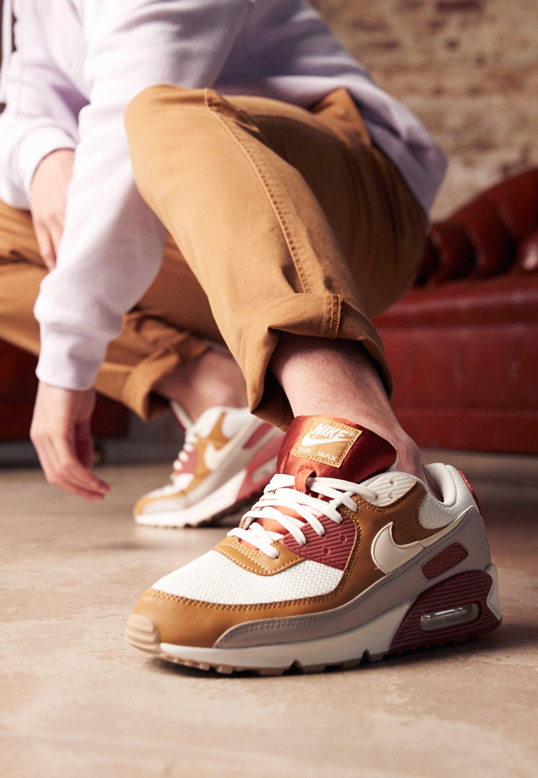 AIR MAX 90 - Trainers - rugged orange/sail/wheat/light brown