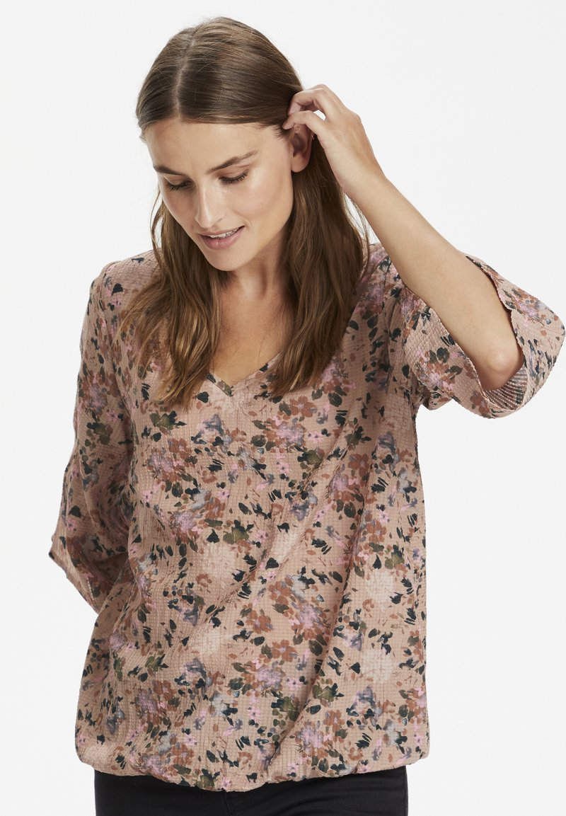 Kaffe - KALEALA - Blouse - watercolor flower print