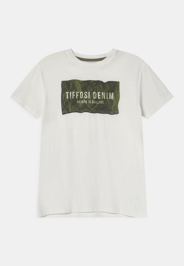 NUNO - T-shirt imprimé - beige