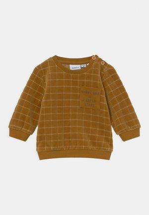 NBMLENNON O NECK - Sweater - cumin