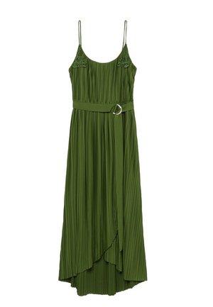 RITA - Day dress - olivengrün