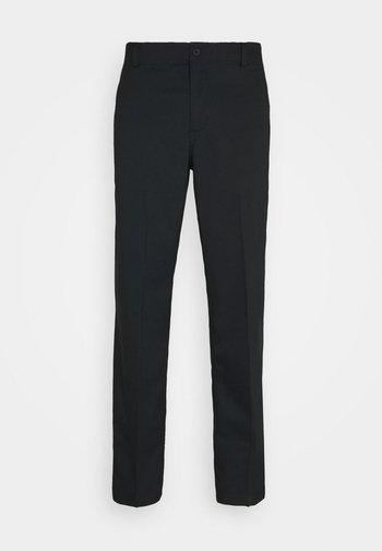 PANT ESSENTIAL - Spodnie materiałowe - black