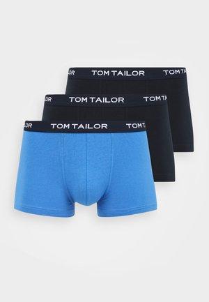PANTS 3 PACK - Boxerky - dark blue/royal blue