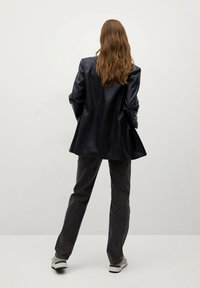 Mango - COMBI - Faux leather jacket - schwarz - 2