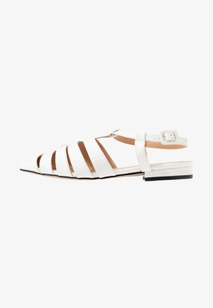 OLIVE OPEN SHOE - Sandals - white
