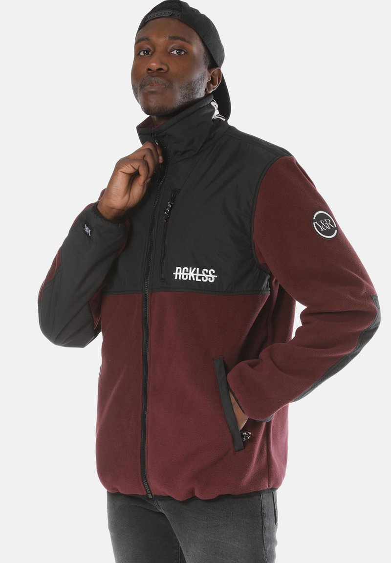 Young and Reckless - Fleece jacket - red