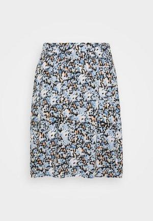 TESSA SHORT - Minifalda - blue