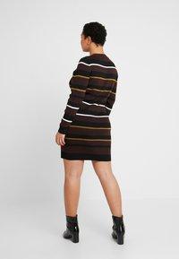 Cotton On Curve - TAHNEE TRUE MINI DRESS - Sukienka dzianinowa - lottie cherry mahogony - 3