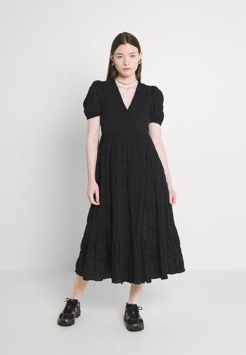 MYRA DRESS - Vestito estivo - black