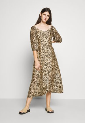 ROWAN DRESS - Maksimekko - beige